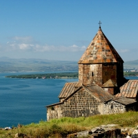 Armenia -- Sevan Monastery