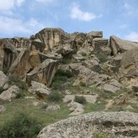 Azer -- Gobustan Rock
