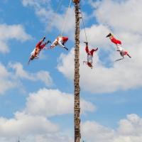 Papantla -- Flying pole diving