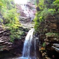 Brazil-Sossego-Waterfall