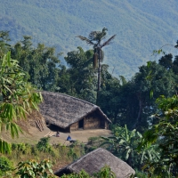 Mon konyak village
