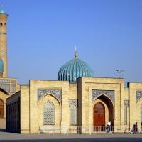 Tashkent, Telyashayakh Mosque Library