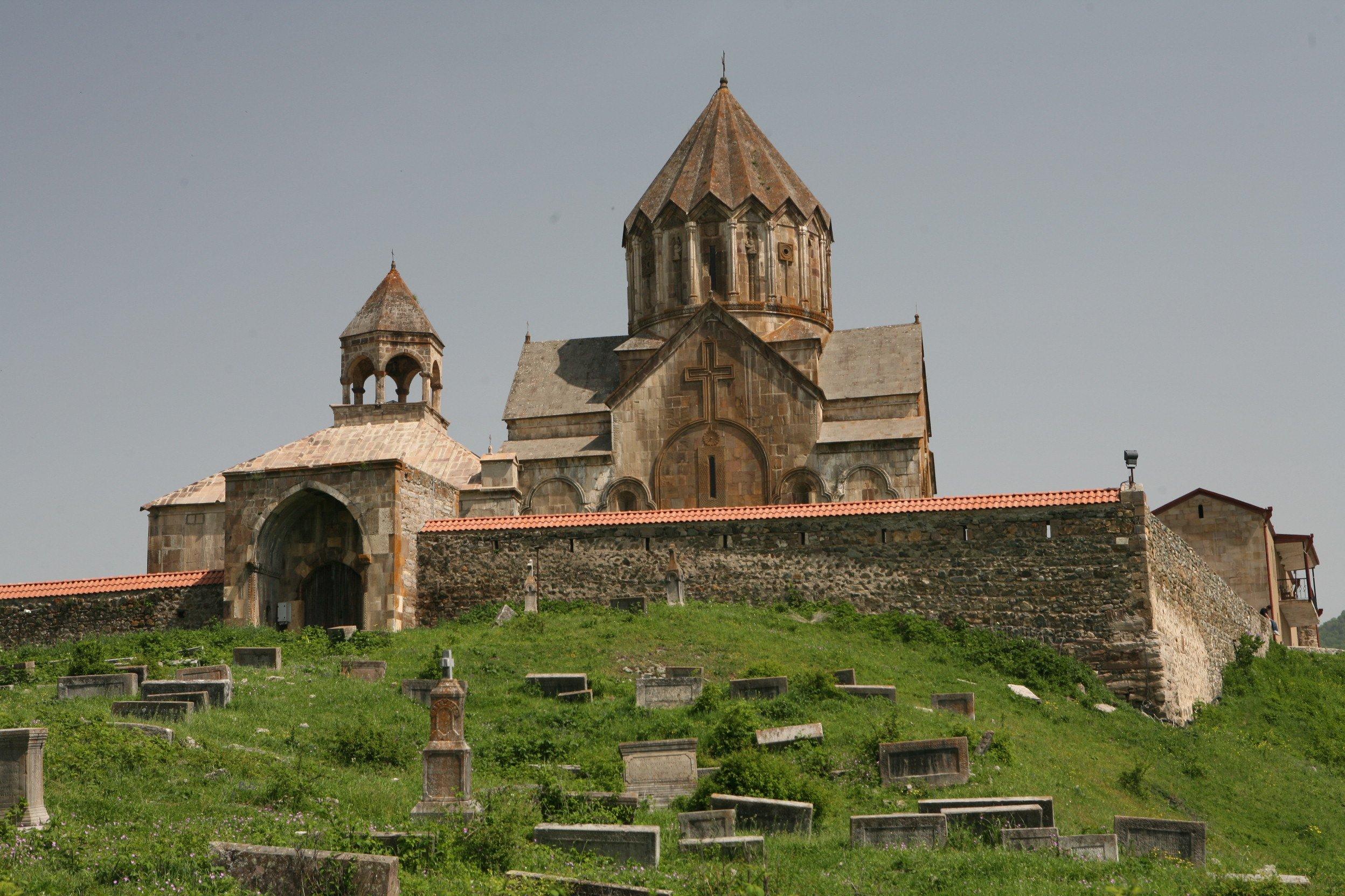 Armenia -- Gandzasar_Monastery