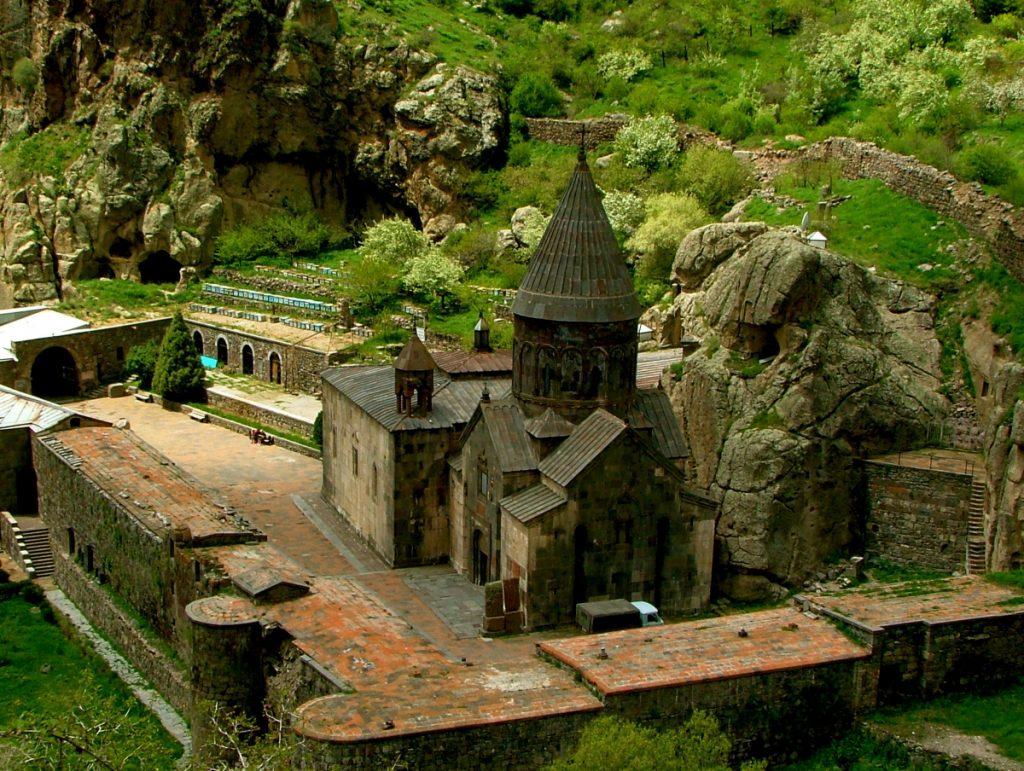 Armenia -- geghart-monastery1