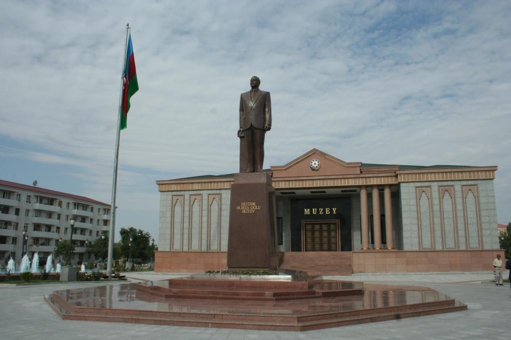 Azer -- Nakhchivan_Aliev_Museum
