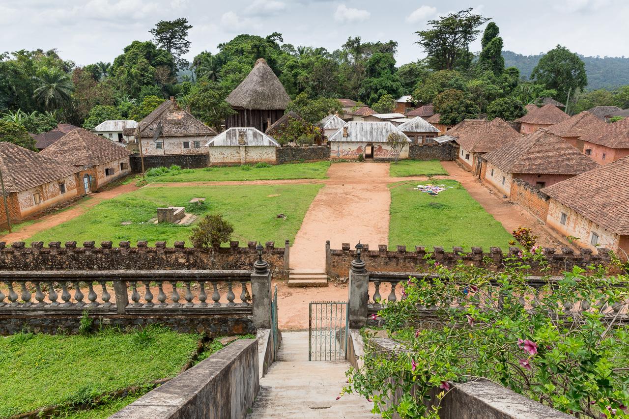 Cameroon -- Bafut Palace