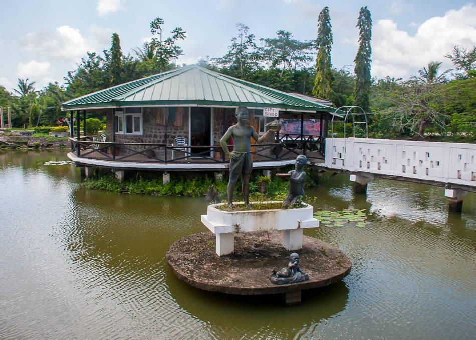 Ghana -- Hans-Cottage
