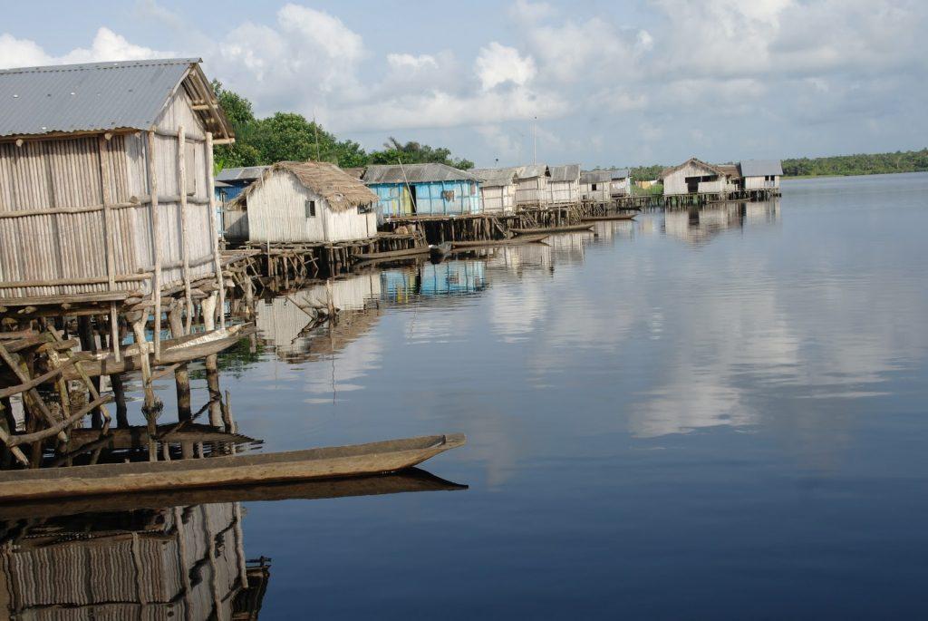 Ghana -- Nzulezu