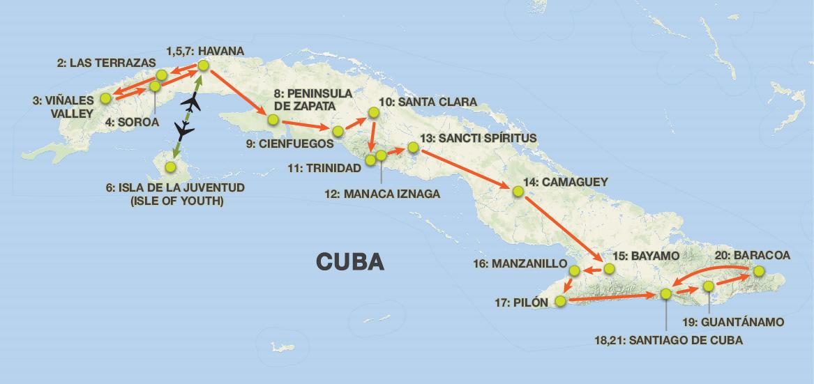Cuba Tours  Days