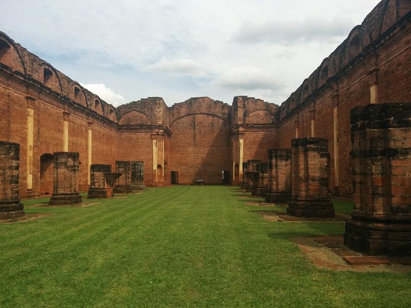 Paraguay -- Jesus ruins