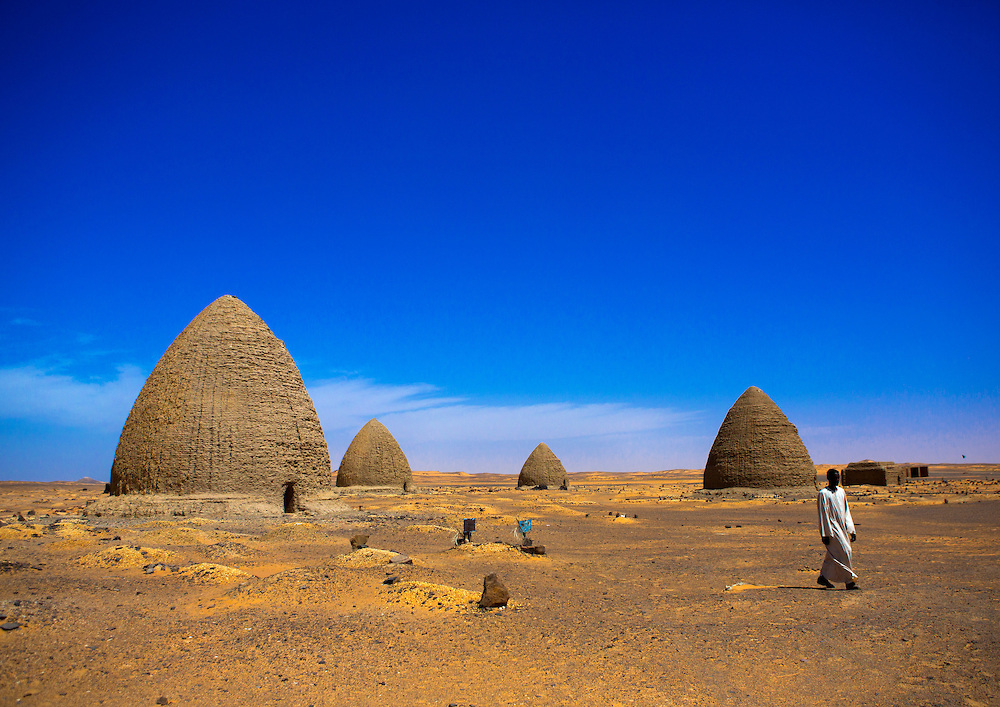 Beehive Tombs, Old Dongola, Sudan