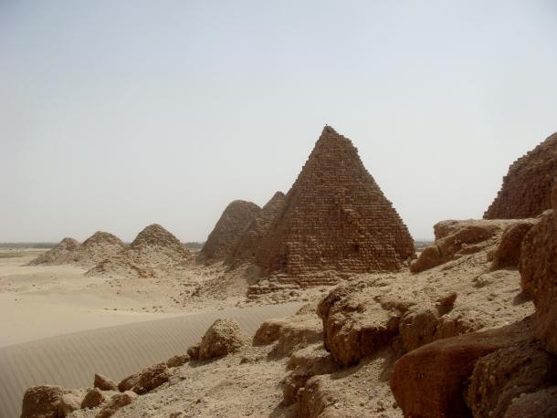 Sudan -- nuri-pyramids