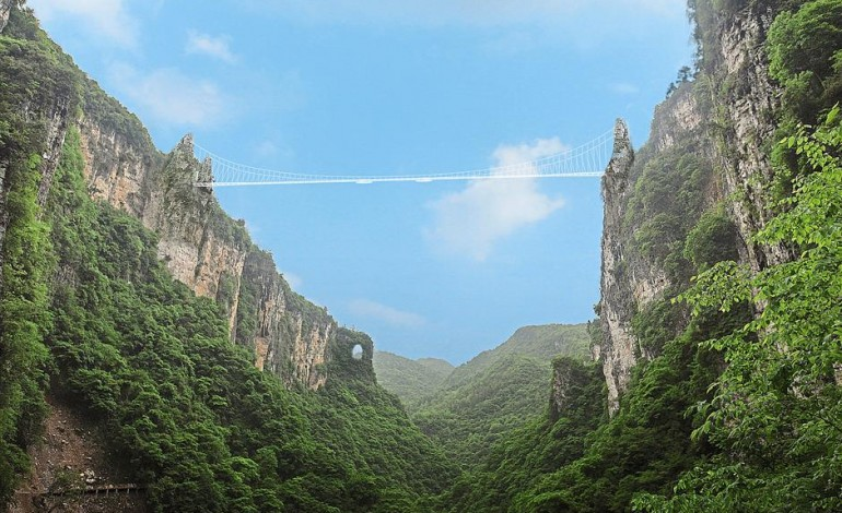Zhangjiajie Grand Canyon