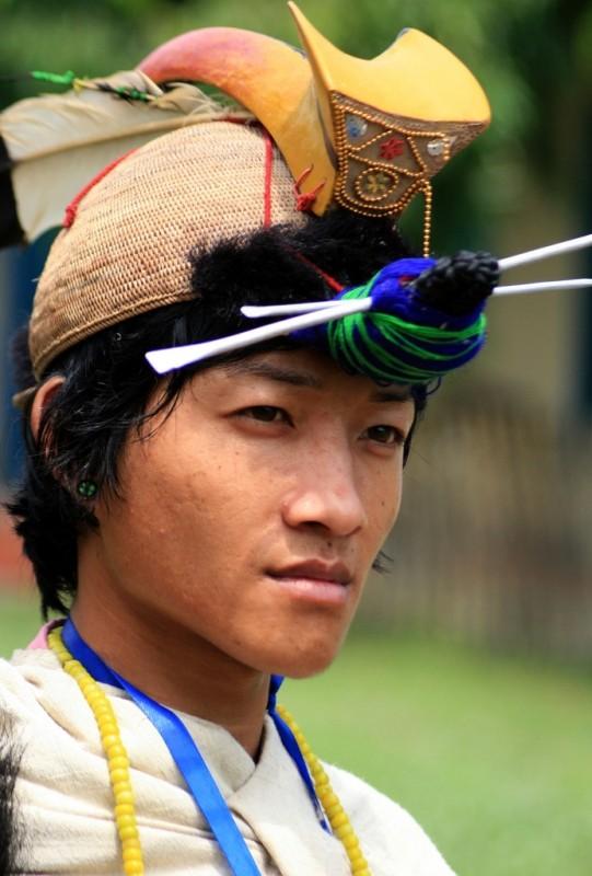 Nishi tribal man by Diganta Talukdar