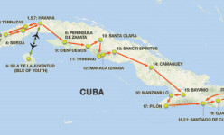 Cuba Uncovered 2020 Tour Route
